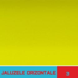 Jaluzele orizontale galbene - Jaluzele Bucuresti