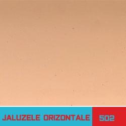 Jaluzele orizontale portocaliu - Jaluzele Bucuresti