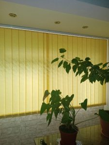 Jaluzele verticale living inchise - Jaluzele Bucuresti